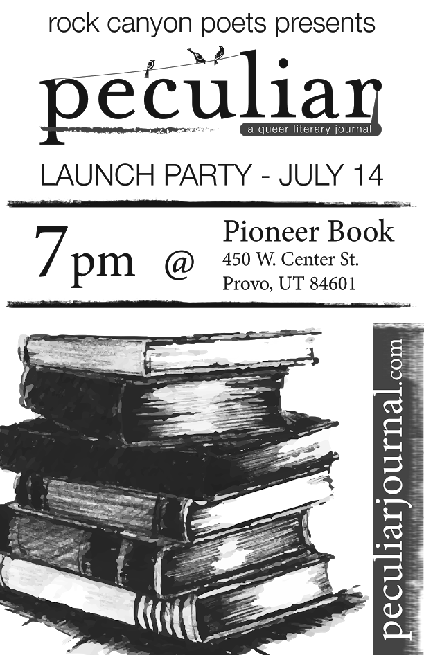 peculiar Launch Party Poster