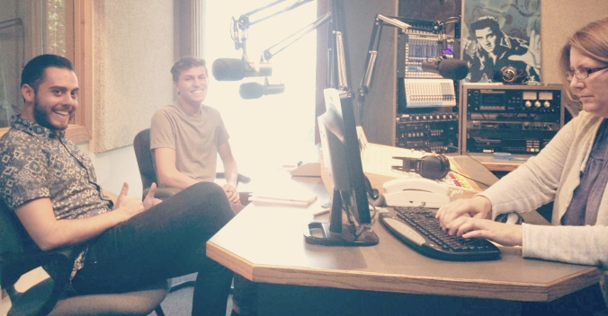 peculiar KRCL 90.9 interview